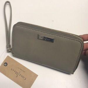 NWT Cole Haan zip wallet!